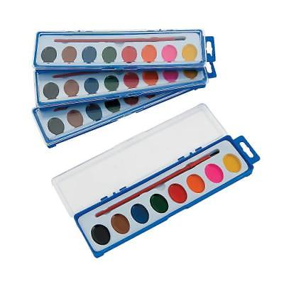 IN-13661293 Watercolor Paint Tray Classpack