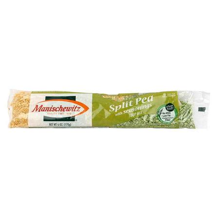 Spring Pea Soup ((3 Pack) Manischewitz Cello Split Pea Soup Mix, 6 oz )