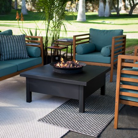 Red Ember Liv Gas Fire Table (Fire Table Gas)