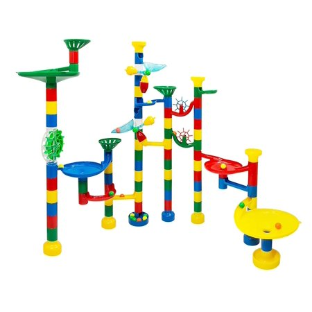 Usa Toyz 85 Piece Deluxe Marble Track Game With 50 Marbles