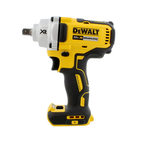 Dewalt 20V Max XR Mid-Range Cordless Impact Wrench with Detent Pin Anvil