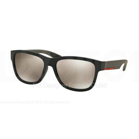 PRADA SPORT Sunglasses PS 03QS DG01C0 Black Rubber 57MM