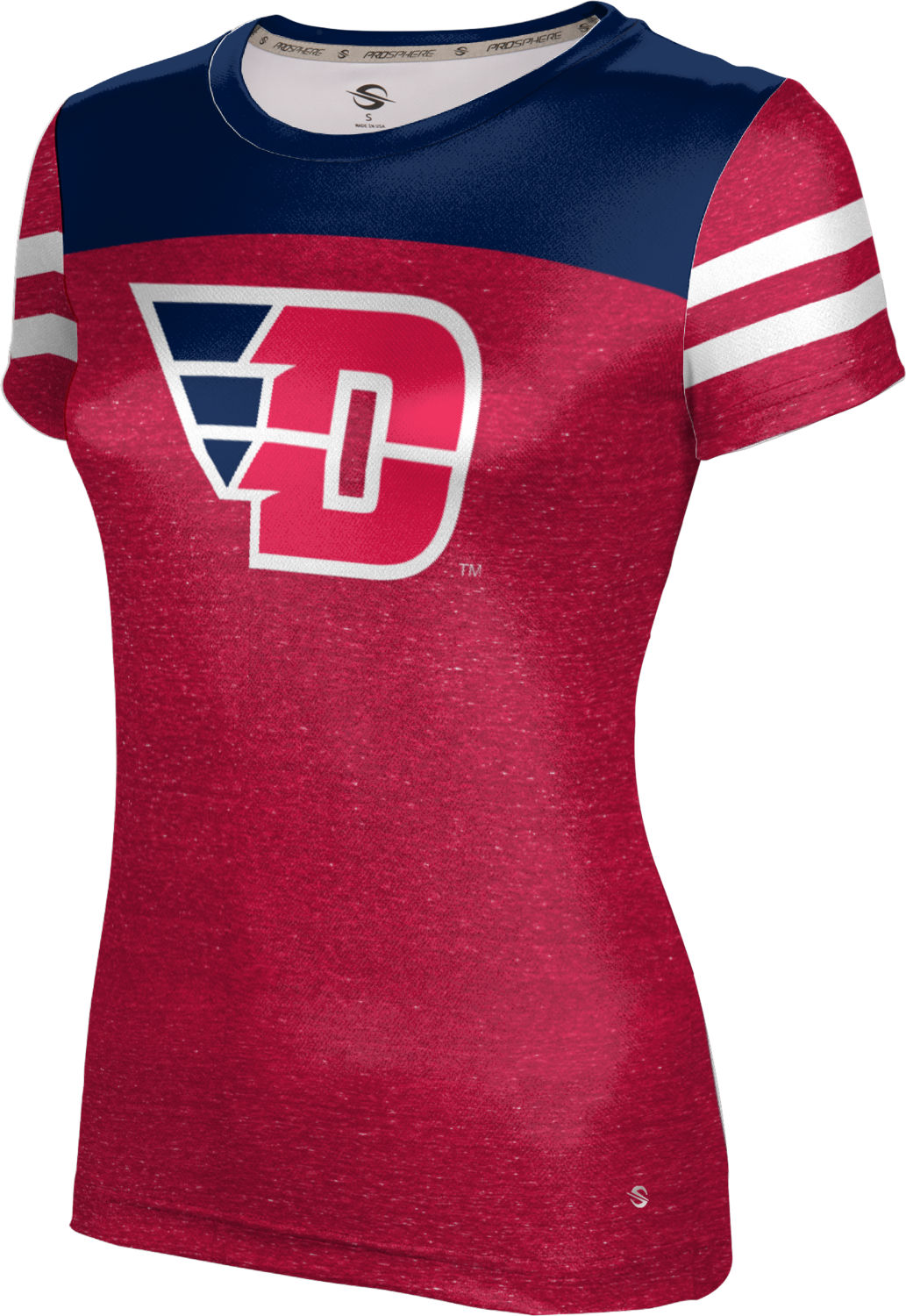 ProSphere Girls' University of Dayton Gameday Tech Tee