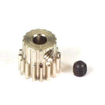 Alloy Racing (1015 Pinion Gear 48P, 15T, Hard Nickel Plated Alloy Steel Pinions By Robinson Racing Products,USA )