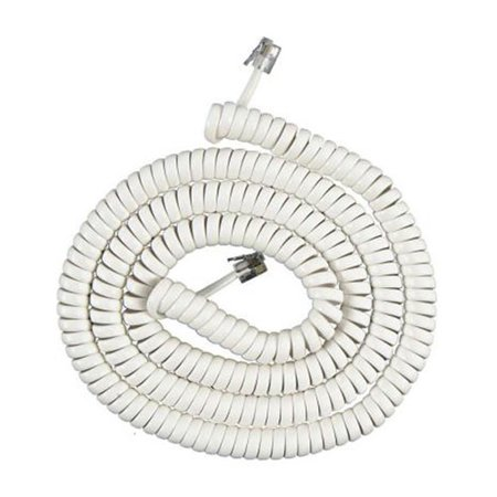 AT&T 615 Extension Cable w/ 15 Feet Telephone Coil Cord