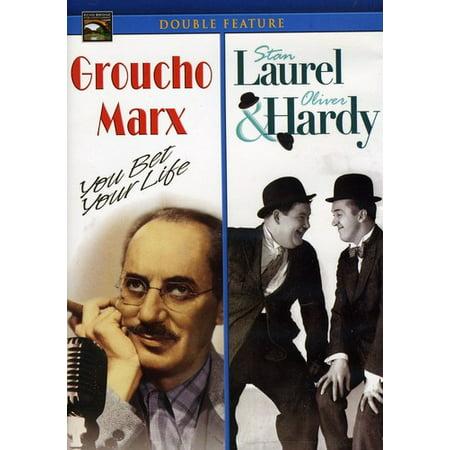 Groucho Marx / Laurel & Hardy (DVD) - Groucho Marx Glasses