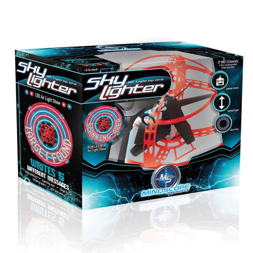 Sky Lighter Remote Controlled UFO - Red