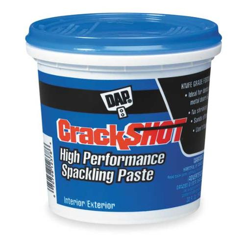 DAP 12378 High Performance Spackling Paste, 1qtPail