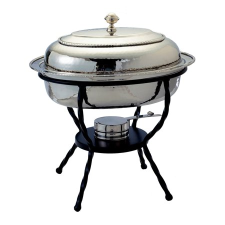 Old Dutch 682 Oval Stainless Steel Chafing Dish