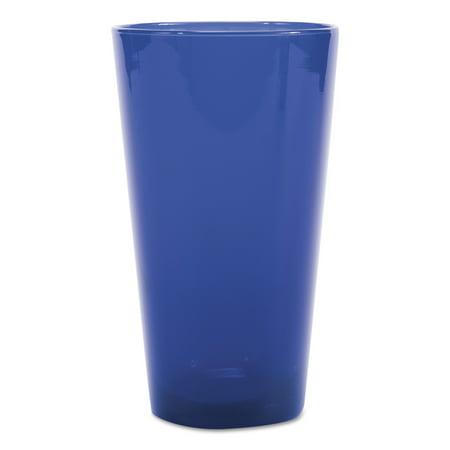 (Libbey Cobalt Blue Cooler Glasses, 17.25 oz, Blue)