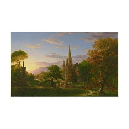 The Return, 1837 Print Wall Art By Thomas Cole