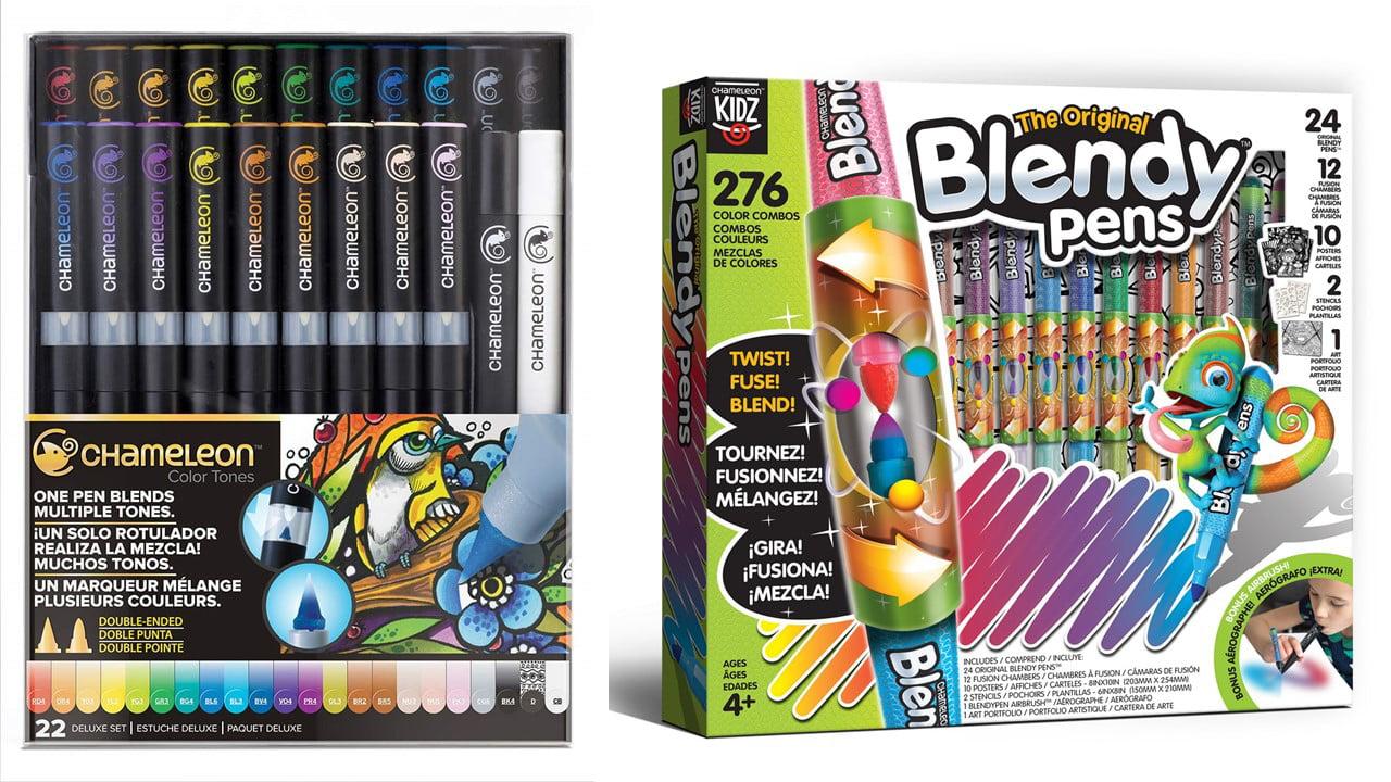 Chameleon 22 Pen Deluxe +Blendy Pens Jumbo Kit 24 Pens