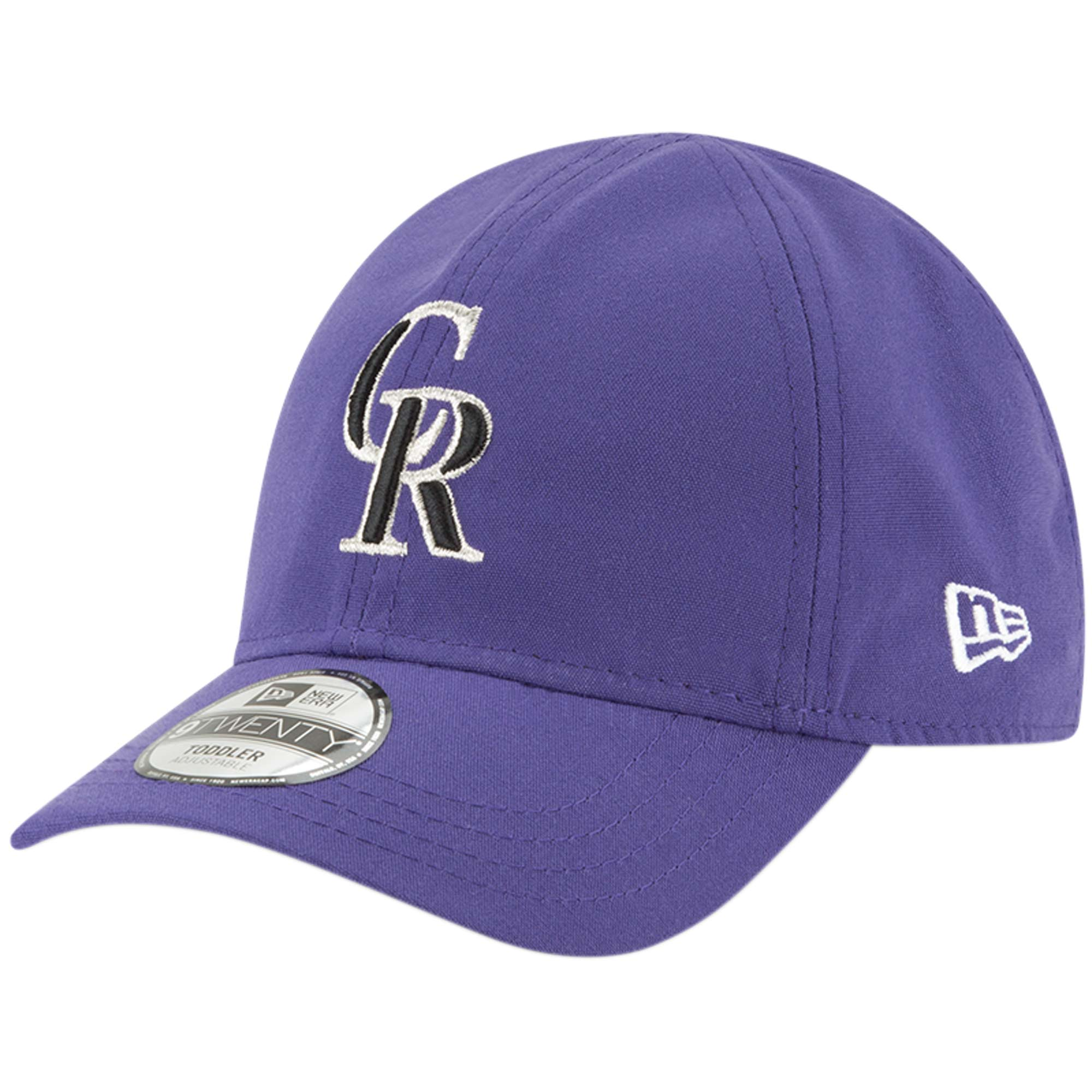 Colorado Rockies New Era Toddler My 1st 9TWENTY Adjustable Hat - Purple - OSFA