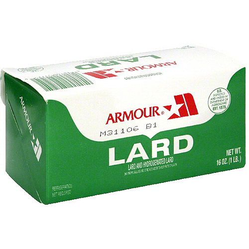 Armour Lard, 1 lb (Pack of 24)