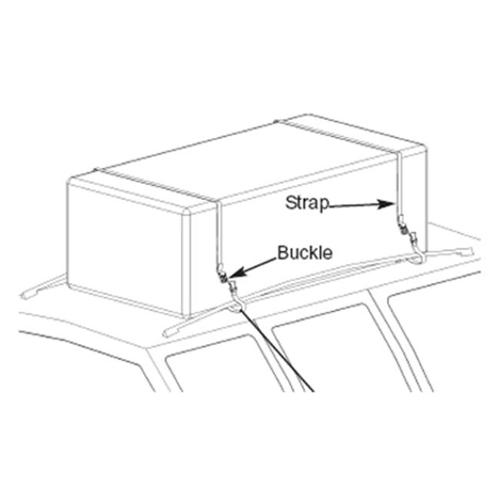 Masterbuilt 30110306 Hitch Haul Universal Rooftop Cargo Bag