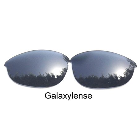 Galaxy Replacement Lenses For-Oakley Half Jacket Silver Polarized 100%UVAB - Silver Jacket