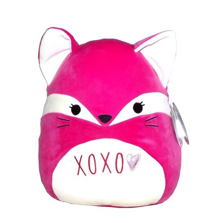 Kellytoy Squishmallows Valentine's Day Themed Pillow Plush Toy (Pink