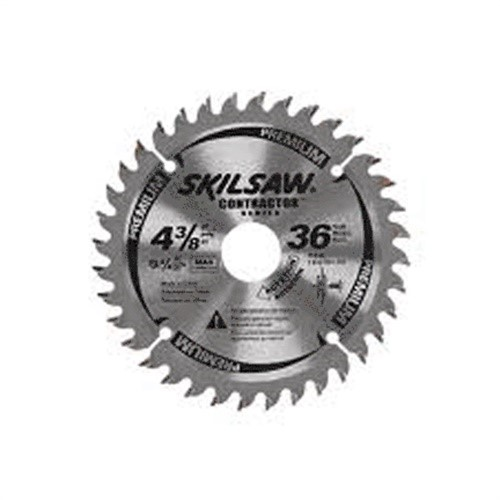 "75536 4-3/8"" 36t Carbide Tipped Circular Saw Blades"
