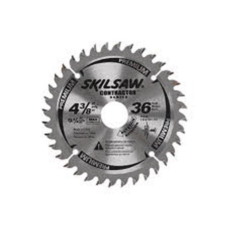 "75536 4-3/8"" 36t Carbide Tipped Circular Saw Blades"