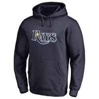 Tampa Bay Rays Team Color Primary Logo Pullover Hoodie - Navy