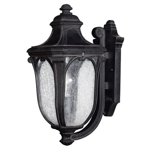 """Hinkley Lighting H1314 17.5"""" Height 1-Light Lantern Outdoor Wall Sconce from the Trafalgar Collection"""