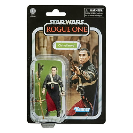 Star Wars the Vintage Collection Chirrut Îmwe Toy 3.75-inch-Scale Action Figure