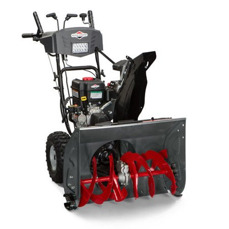 Briggs   Stratton 1696619 250Cc 27 In  Dual Stage Medium Duty Gas Snow Thrower With Electric Start