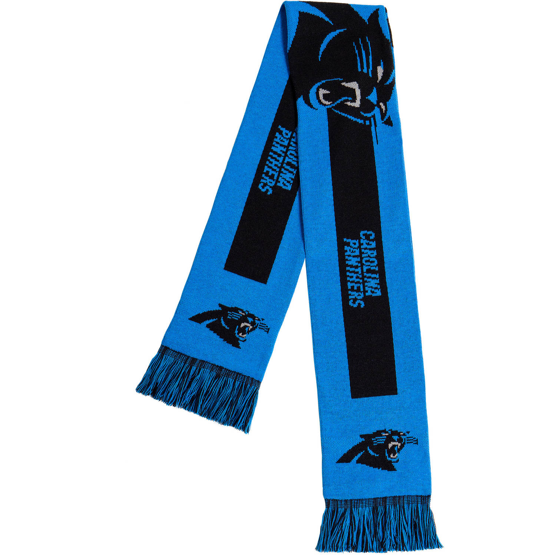 Forever Collectibles - NFL Adult Big Logo Scarf, Carolina Panthers