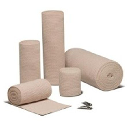 "WP000-16400000 16400000 Bandage Reb Elastic LF Cotton Reusable 4""x5yd Tan 10 Per Pack # 16400000 From Hartmann USA"