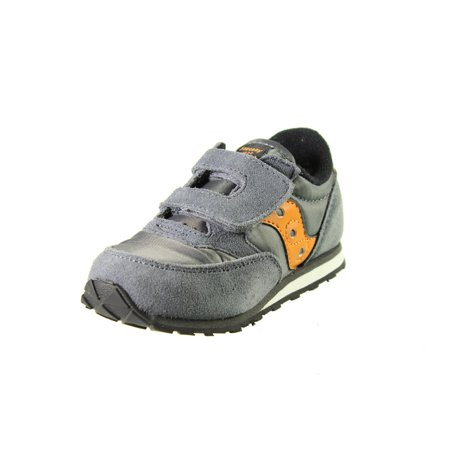 Saucony Boys Baby Jazz Contrast Trim Suede Sneakers