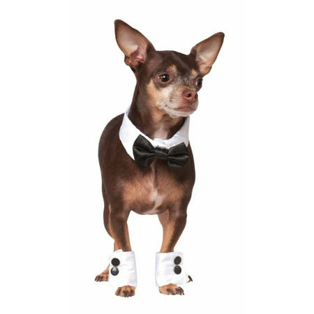 Halloween Pet Tuxedo Bowtie & Cuff Set](Mom From Et Halloween)