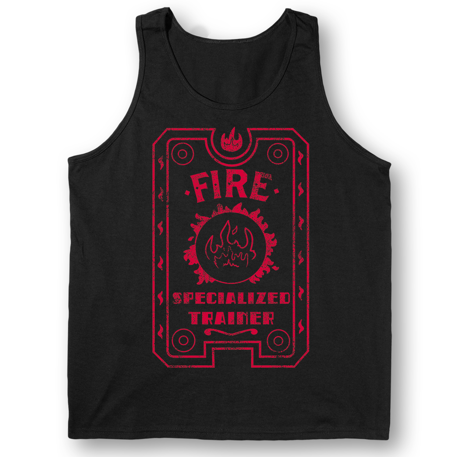 Fire Specialized Trainer-ADULT TANK TOP