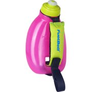 FuelBelt Helium Sprint Handheld Hydration: Maui Pink/Lagoon Green 10oz