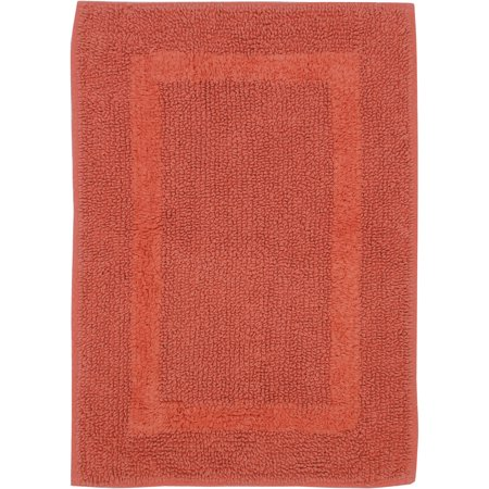 Better homes and garden cotton reversible bath rug collection for Better homes and gardens bathroom rugs