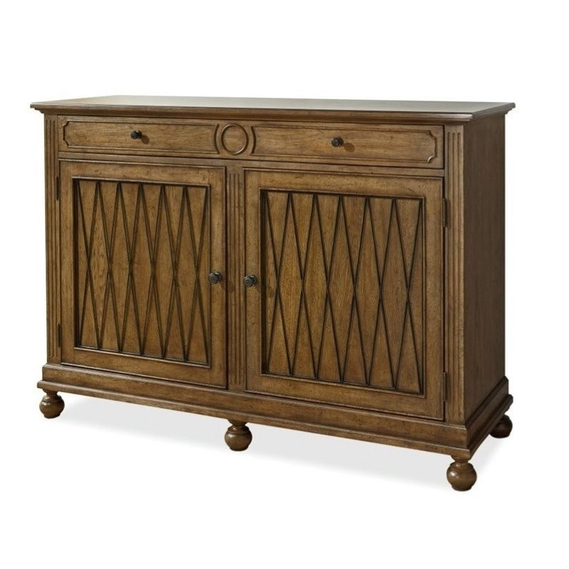 Universal Furniture Remix Wood Credenza in Bannister