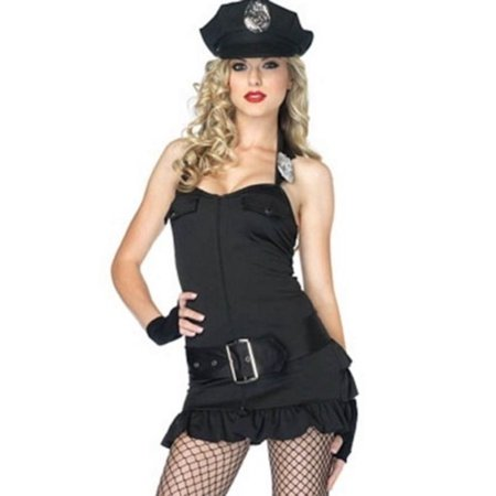 Leg Avenue Officer Pat Down Cop Costume Set 83804 - Pat Benatar Costumes