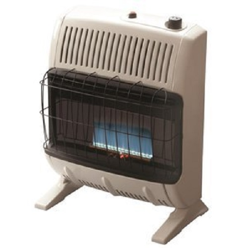 Mr. Heater 30,000 BTU Vent Free Blue Flame Natural Gas Heater+mr Heater Fan by Mr. Heater