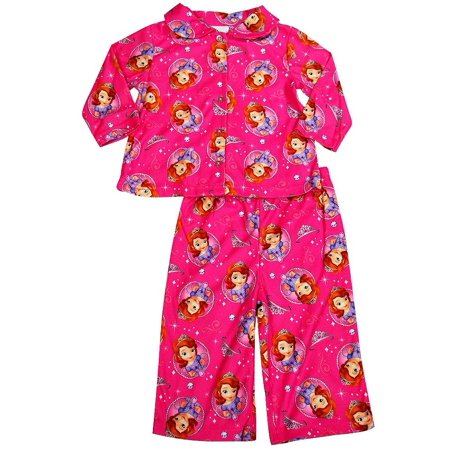 8f5a2da22 Disney - Disney Princess - Baby Girls Long Sleeve Pajamas Pink Sofia ...