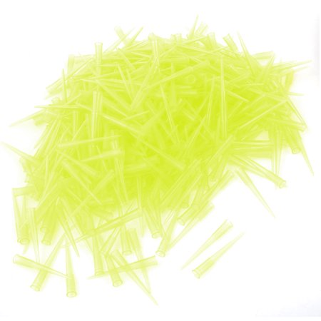 Unique Bargains 1000pcs Laboratory Microbiological Test Pipette Pipettor Tips 200ul