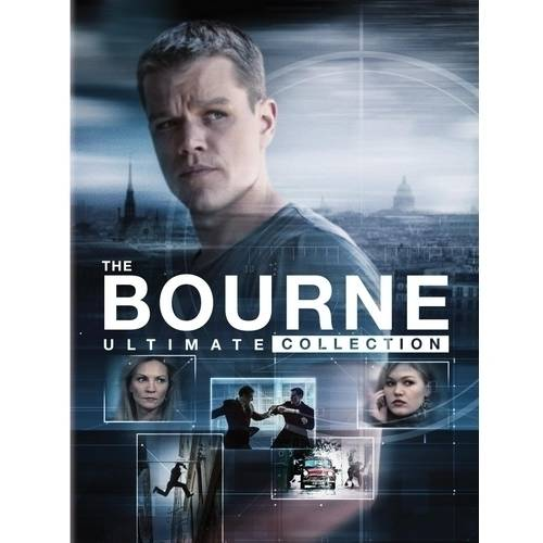 The Bourne Ultimate Collection: The Bourne Identity / The Bourne Supremacy / The Bourne Ultimatum / The Bourne Legacy / Jason Bourne (Widescreen)