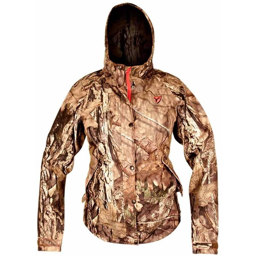 Scent Blocker Sola Womens Drencher Jacket, Camo thumbnail
