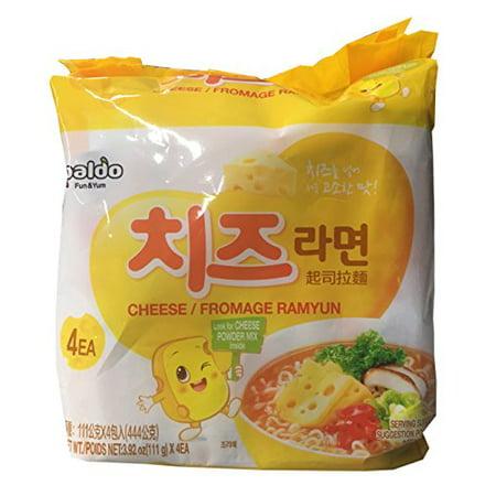 Paldo Korean Ramen Family Pack (Cheese)