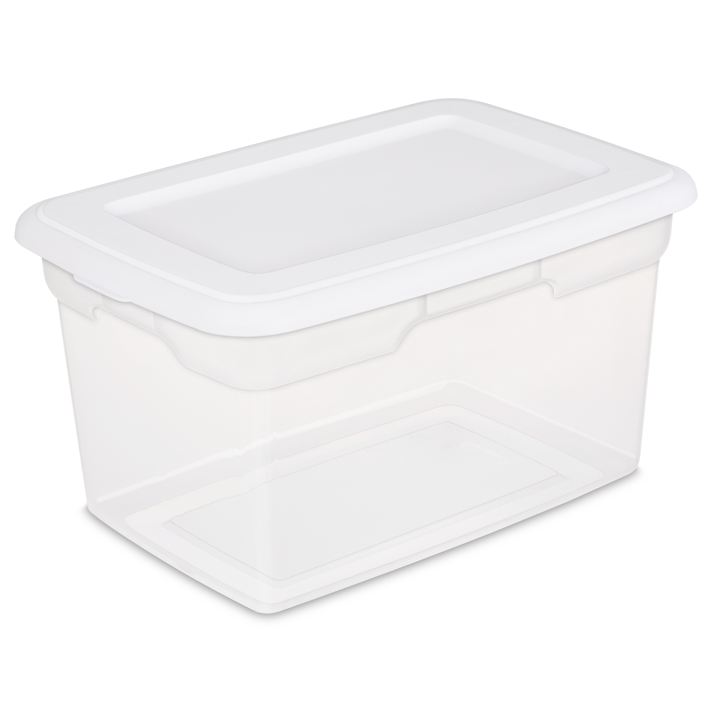 Sterilite 20 Qt./18.9 L Storage Box, White