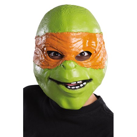 TMNT Movie Michelangelo Child Mask (Ninja Turtles Movie Mask)