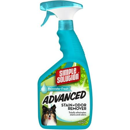 Simple Solution Advanced Stain & Odor Remover, Rainwater Fresh, 32 oz