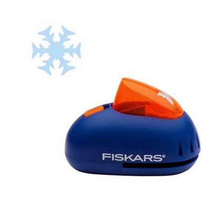Fiskars 12-24727097 Pop-up Punch, Snowflake