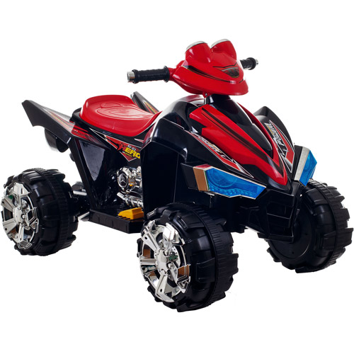 Lil' Rider Pro Circuit Hero 4-Wheeler 6-Volt Battery-Powered Ride-On