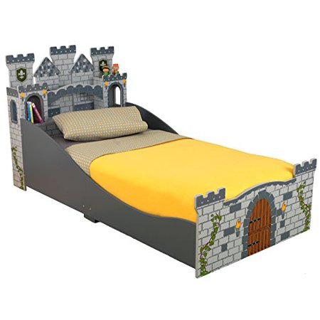 KidKraft Boys Medieval Castle Toddler Bed