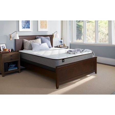 Sealy Response Essentials 10 5  Plush Tight Top Mattress   In Home White Glove Delivery Included