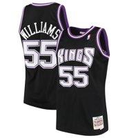 Jason Williams Sacramento Kings Mitchell & Ness 2000-01 Hardwood Classics Swingman Jersey - Black